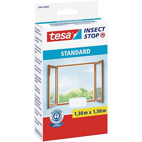 tesa® Fliegengitter Standard Fenster 130x150 weiß