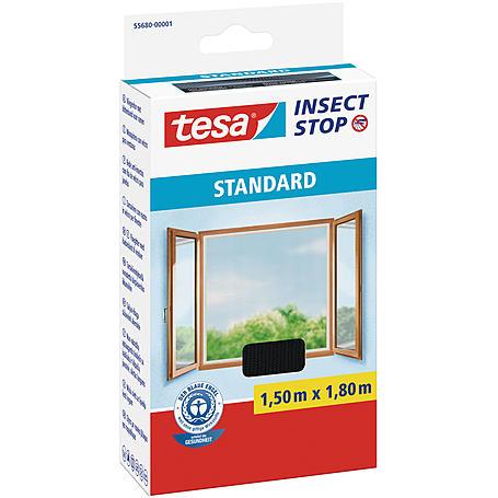 tesa® Fliegengitter Standard Fenster 150x180 anthr