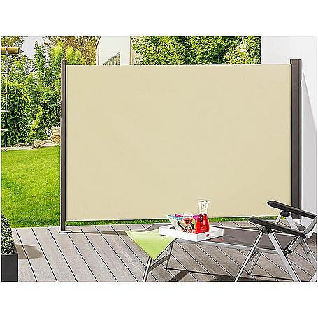 """Seitenmarkise SLIM """"creme"""" 160 x 300 cm"""