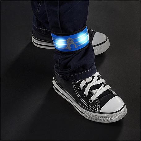 reer 53042 MyTwinkleGuard LED Klackband, Monster