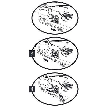 Masterlock 256EURDAT Bremspedal-Lenkradschloss