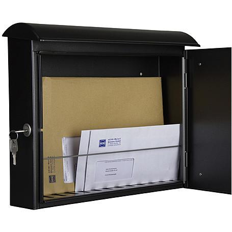 Heibi Briefkasten Quelo 64158-028 Schwarz