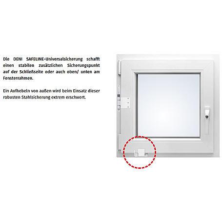 Deni Fenstersicherung Safeline weiß RAL 9016