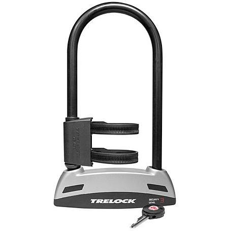 Trelock Bügelschloss BS 301 108x230 mm schwarz
