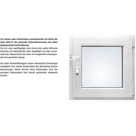 Deni Fenstersicherung FS3 schwenkbar weiß