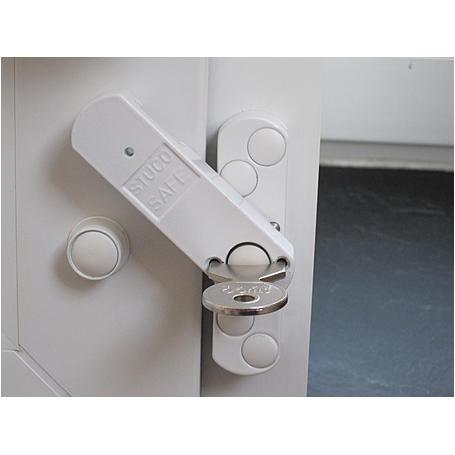 10er Bever Stuco Safe Fensterriegel S22 weiß