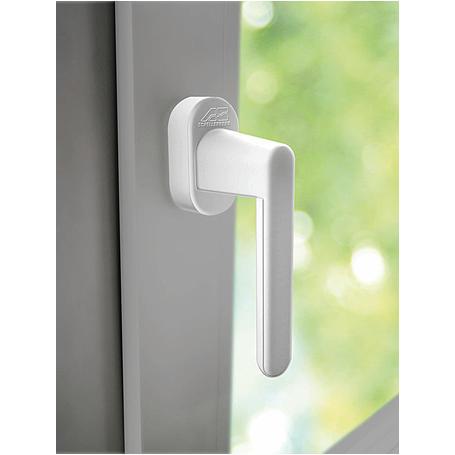 Schellenberg 46500 Fenstergriff Alarm weiß 32mm