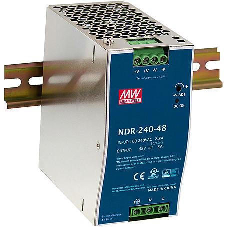 MONACOR NDR-240/48 Schaltnetzgerät