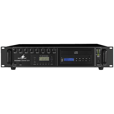MONACOR PA-8120RCD ELA-Mono-Mischverstärker