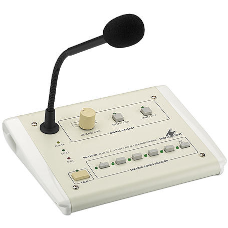 MONACOR PA-1120RC ELA-Kommando-Tischmikrofon