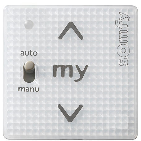 Somfy Smoove Uno A/M io Wandsender o. Rahmen