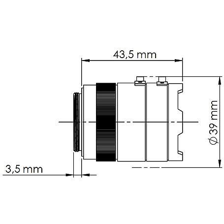 Mobotix Sensormodul S15/16, M15/16 CSVario Tag 6MP