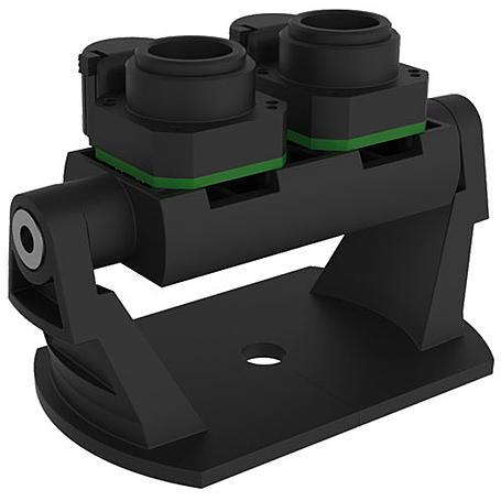 Mobotix Objektivträger D15/D16 Body T/N, 2x 6MPx