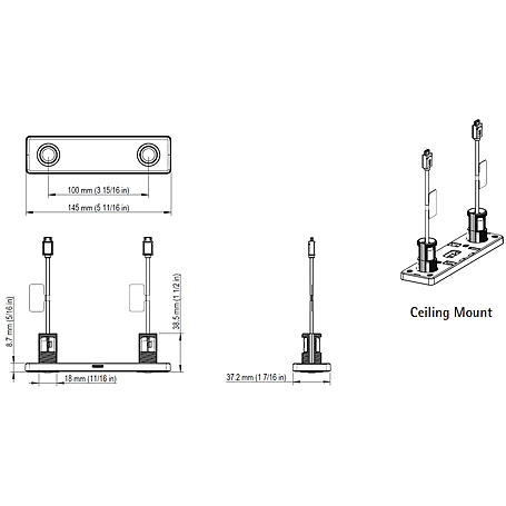 Axis F8804 Stereo-Sensoreinheit