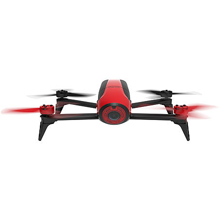 Parrot Bebop 2 Drohne schwarz/rot