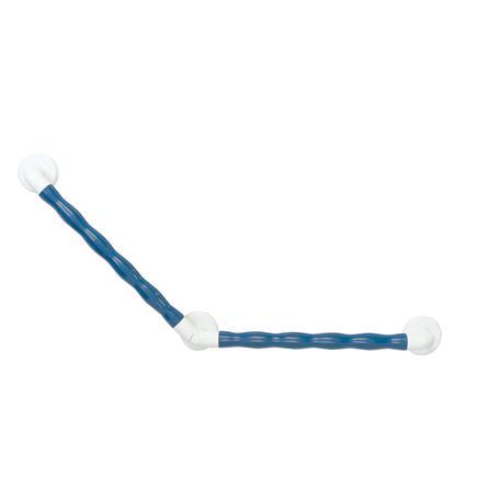 Kunststoff-Winkelgriff 135° ergonomisch blau 450