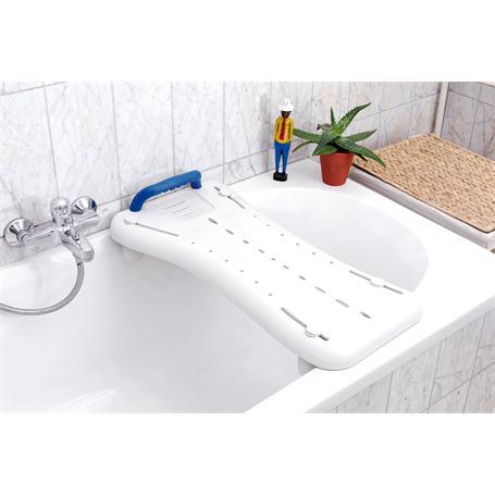 Badewannenbrett mit Griff weiß 690x270mm