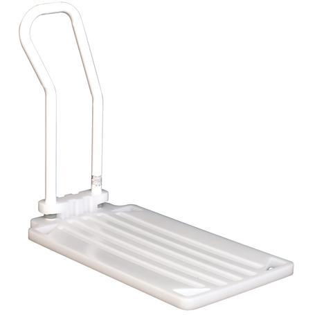 Bett-Aufstehhilfe Grifflänge 450-550mm weiß