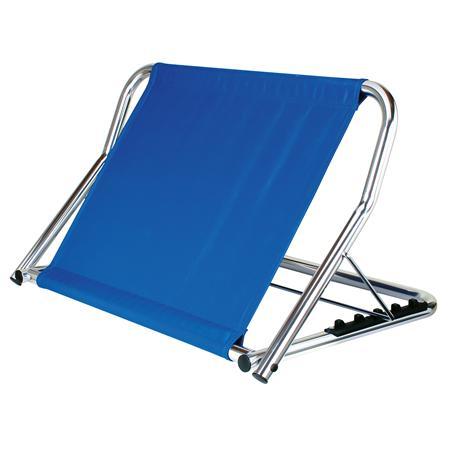 GAH ALU-Rückenstütze blau zusammenklappbar