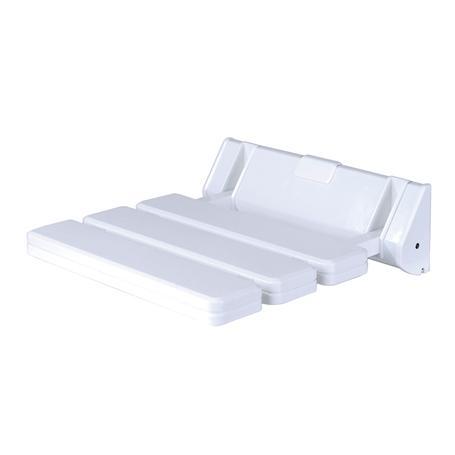 Kunststoff Duschklappsitz weiss 315x225mm