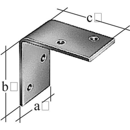 Winkel fvz 40x70x70 mm