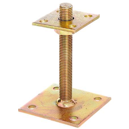 I-Pfostenträger höhenverstellbar 30-150, 70x70mm