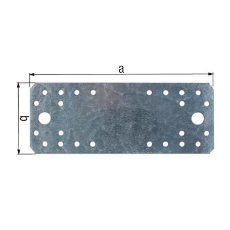 Flachverbinder vz 100x35x2,5mm 25Stück