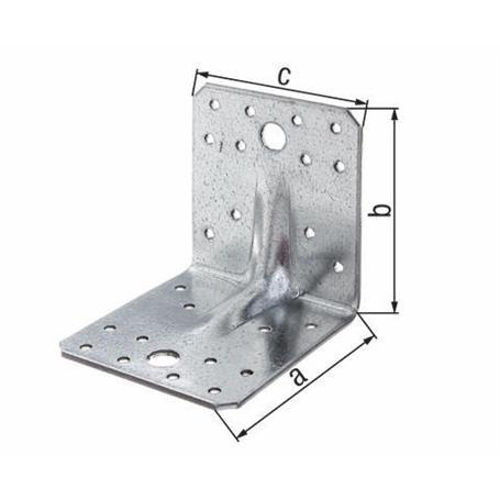 Schwerlast-Winkelverbinder vz 70x70x55mm 12Stück