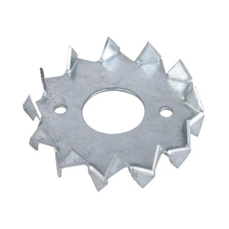 Scheibendübel m.Zähnen 2-seitig vz Ø62mm