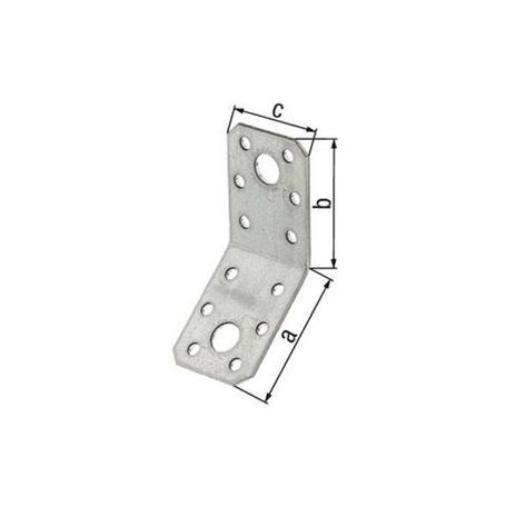 Winkelverbinder 135° abgewinkelt vz 90x90x65mm
