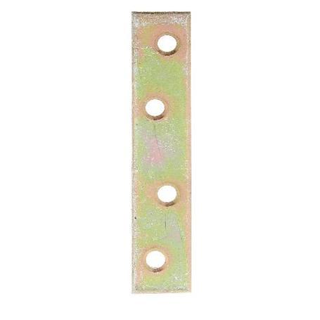 Flachverbinder gelbvz 80x15mm 8Stück