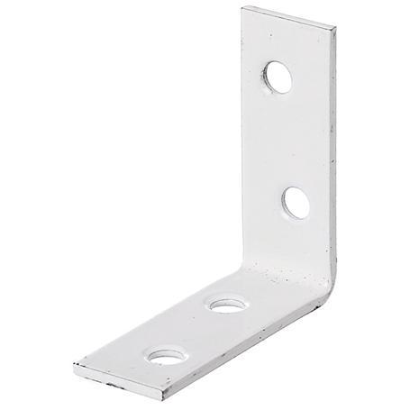 Stuhlwinkel weiß 40x40x15mm 12Stück