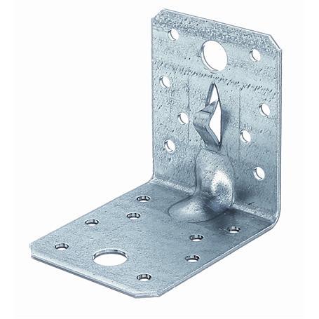 Winkelverbinder m. Fixierkralle vz 70x70x55mm