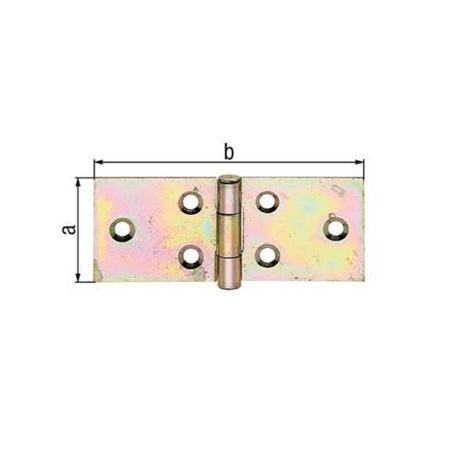 GAH Tischband gelbvz 44x203x2mm