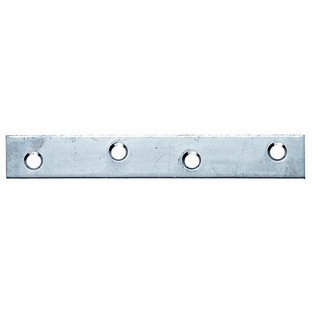 Edelstahl-Flachverbinder VA 100x15mm