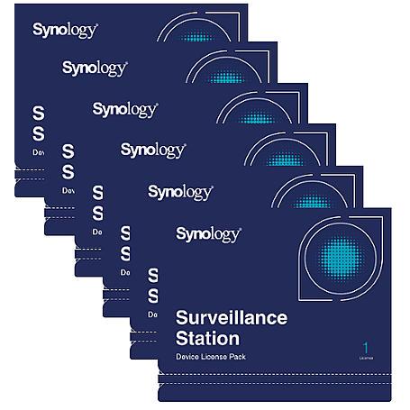 Synology Kamera Lizenz - 6x Device License