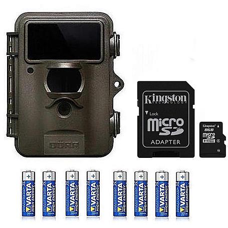 Dörr Snapshot Limited Black 5.0 +8GB SDHC+Batterie