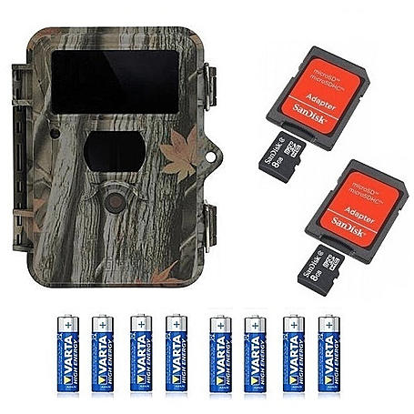 Dörr Snapshot Mini Black 5.0 2x8GB SDHC +Batterien