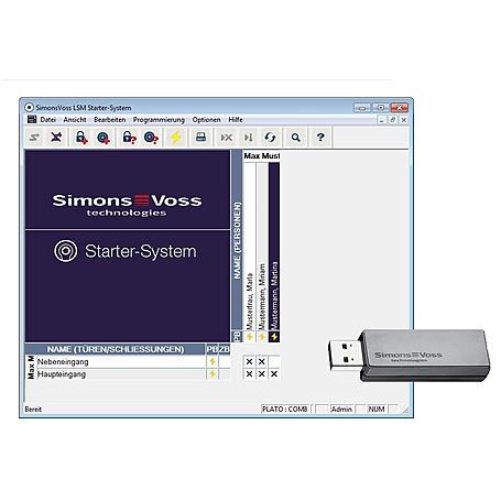 SimonsVoss LSM.STARTER mit CD.STARTER.G2 - SET