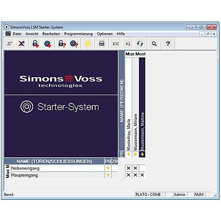 SimonsVoss Haustür Schließanlage Starterpaket 2