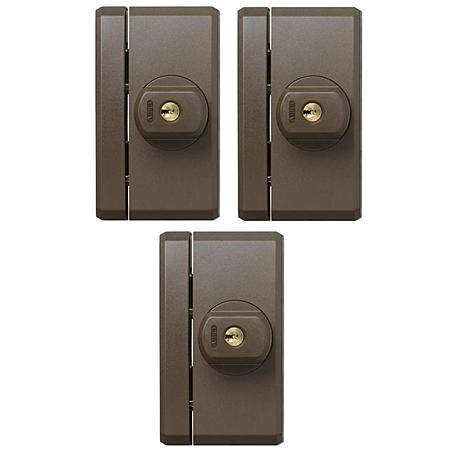 abus fts 96 b fensterzusatzschloss braun 3er set expert. Black Bedroom Furniture Sets. Home Design Ideas