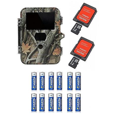 Dörr Snapshot Extra Black 5.0 2x8GB SDHC+ Batterie