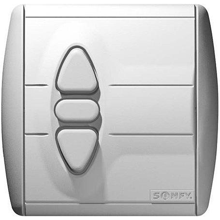 Somfy Inis Uno - Schalter mit Abdeckung & Rahmen