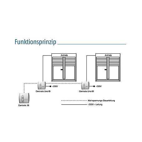 Somfy Zentraltaster 1800278 + Abd. und Rahmen