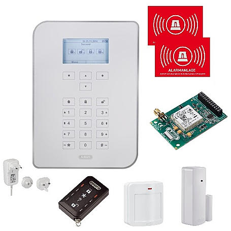 ABUS Secvest Funkalarmanlagen-Set mit GSM-Modul