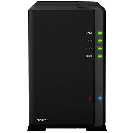 Synology Video-Set NVR216 4CH + 2x Abus IPCB42550