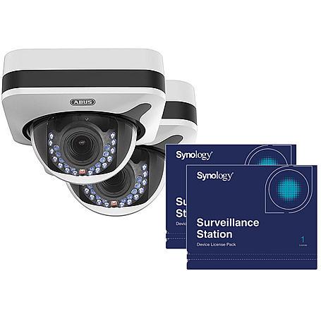 2x Abus IP-Kamera IPCB72500 1080p +Synology Lizenz