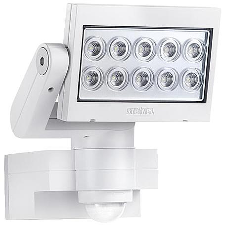 Abus Kamera IPCB42500 + Steinel Strahler XLed10 ws
