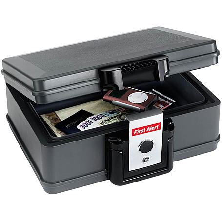GLORIA 4x Rauchmelder RWM-10 + 1x Dokumentenbox
