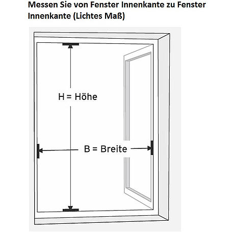 Alu-Fliegengitter Basic 130 x 150cm weiß - 6er Set
